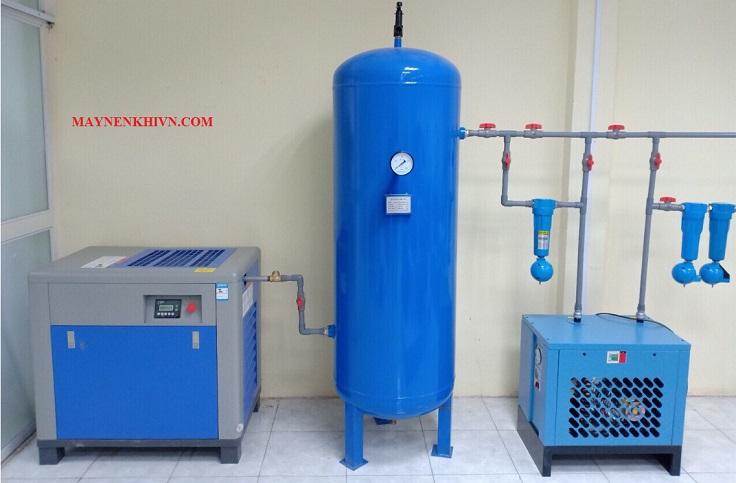 hệ thống bình chứa khí nén